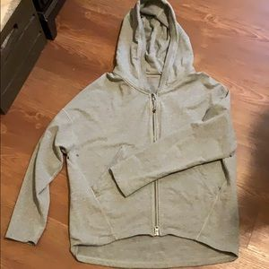 Lululemon Zip Up Cropped Hooded Jacket